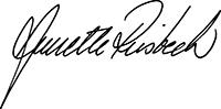Annettes namnteckning